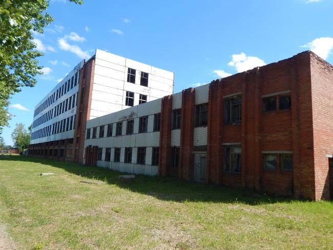 Когда это здание принадлежало ВЗЭПу.