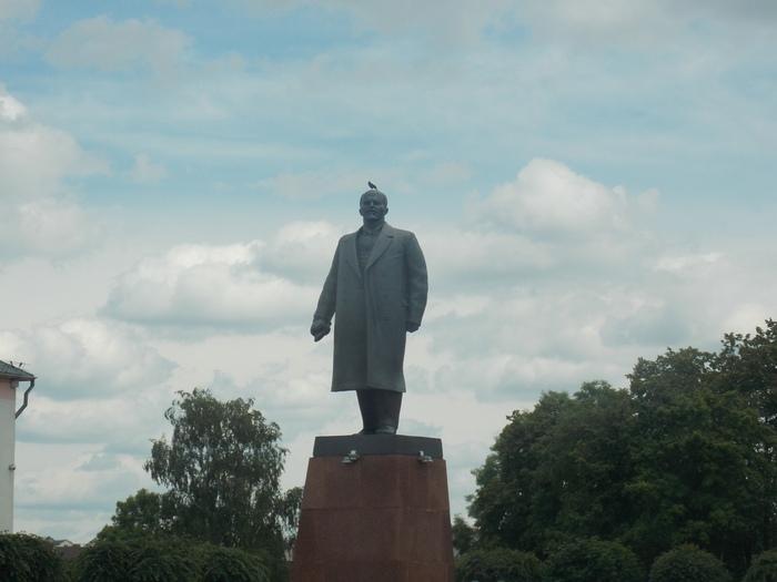 Памятник В.И. Ленину в Орше