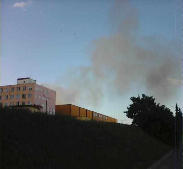 Дым над Эвикомом