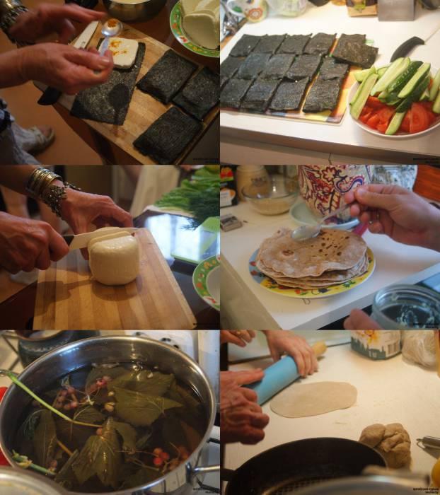 Приготовление блюд было очень увлекательным