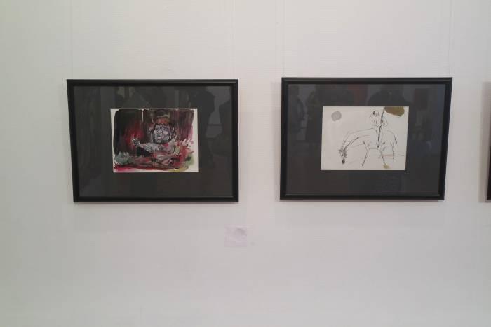 Также на выставке были представлены иллюстрации М. Ормандика