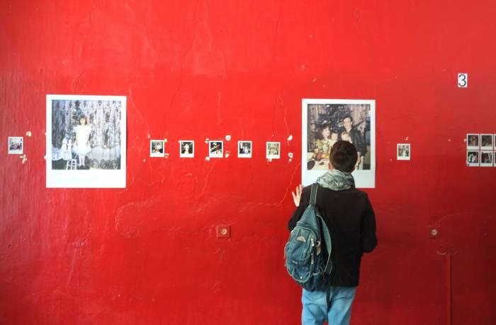 Выставка вызывала живой интерес у публики