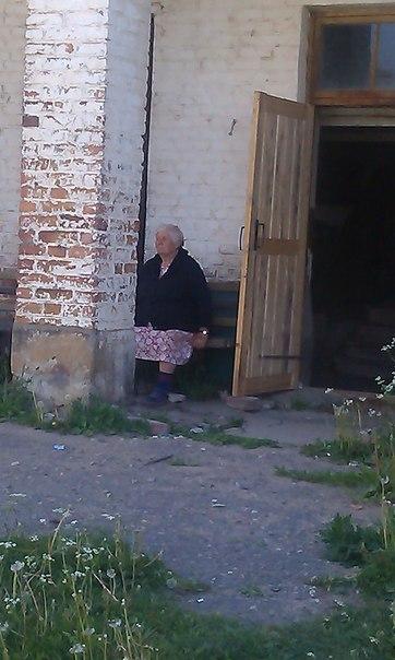 Одна из двух жителей дома.