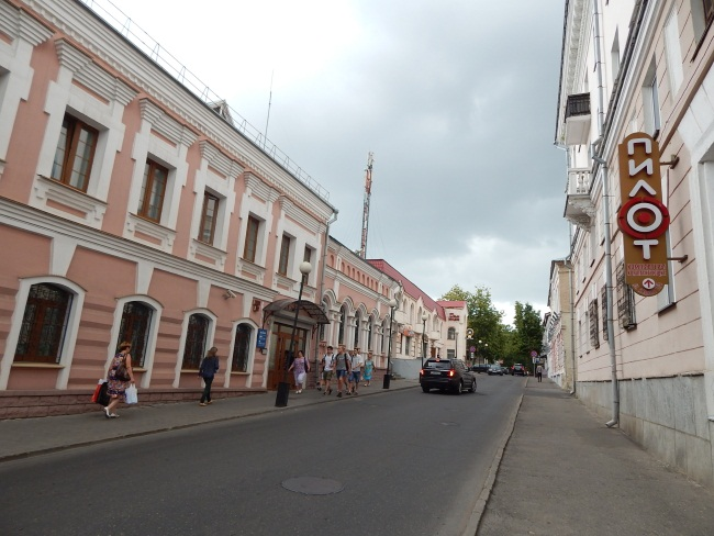 Вид на улицу Купалы.