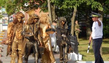 шествие на Славянский базар, уличный фест