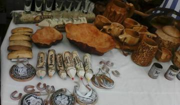 работы членов Белорусского союза народных мастеров
