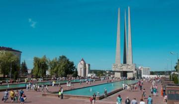 Площадь Победы в Витебске. День Независимости