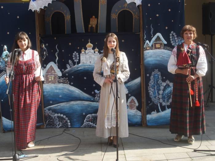 Коллектив из Городка - Анастасия Камышова, Ирина Шалаева, Екатерина Шамардинова