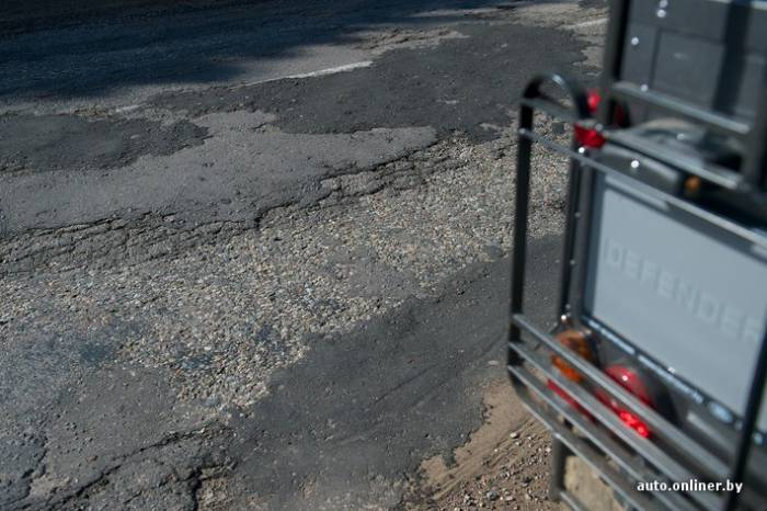 Плохие дороги Россоны Витебская область