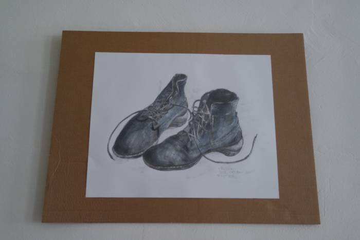 На данный момент творческий центр украшают картины витебской художницы Берегейко О.Т.