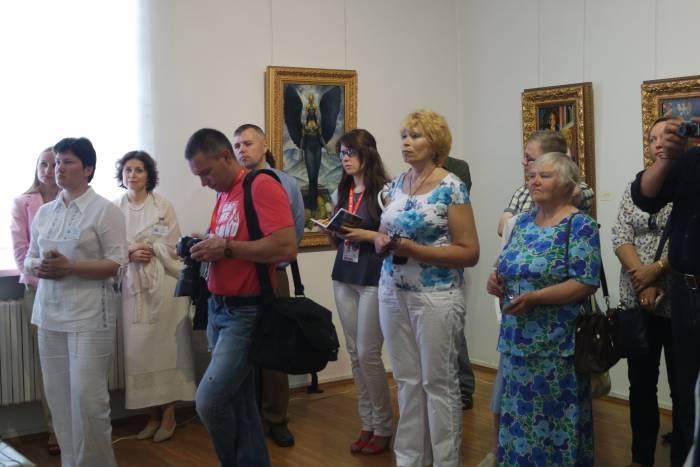 Выставка собрала зрителей разных поколений