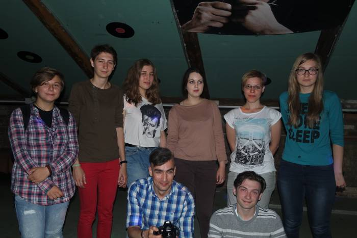 """Организаторы и волонтеры проекта """"Дотык"""""""