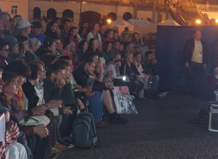 Зрители на закрытии фестиваля