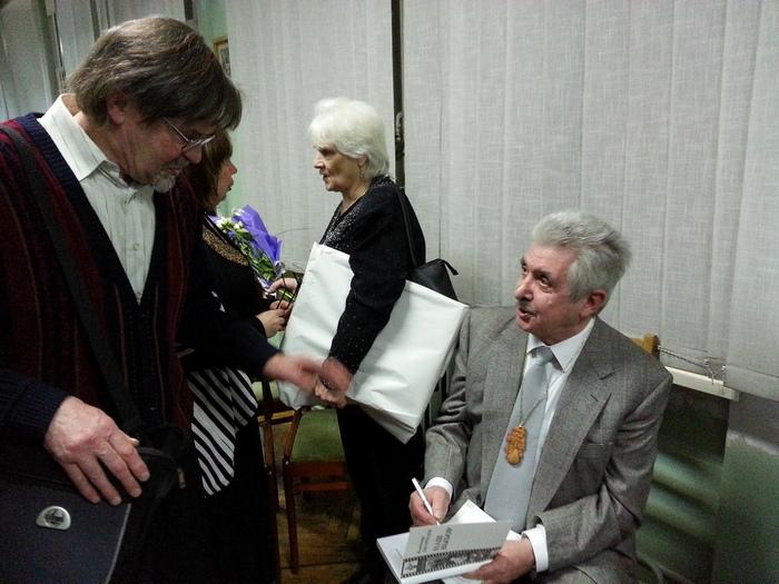 Владимир Джариани на своём творческом вечере