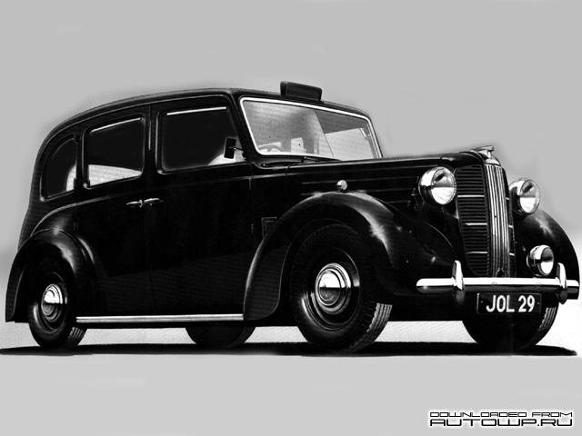 Модель Austin FX3 1948 - 1958 была очень популярна в Соединённом королевстве