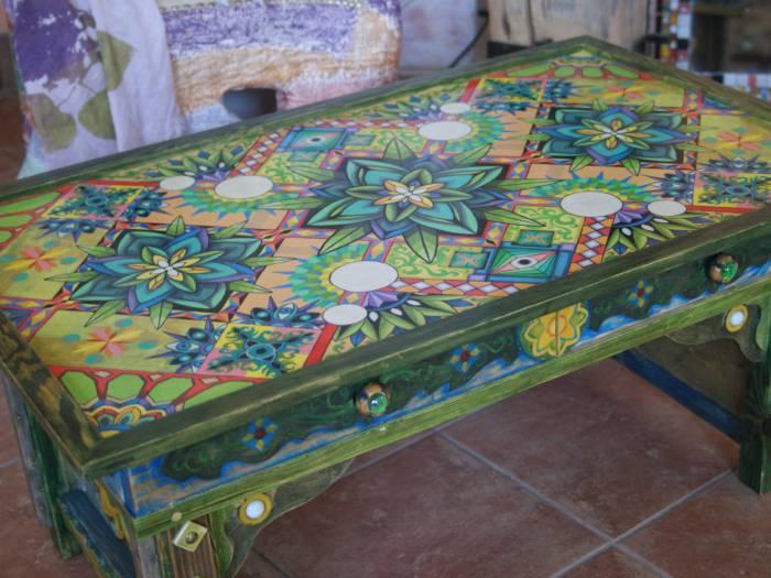 Чайный стол «Фрактальная сущность растений»