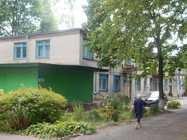 Кожное отделение на 3-й Суражской улице.