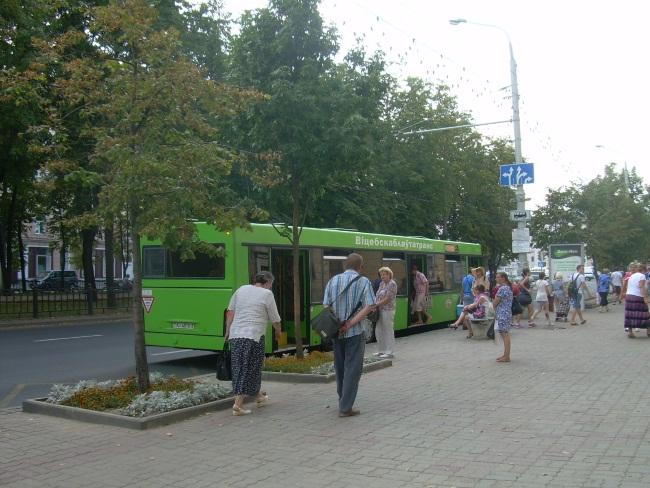 В общественном транспорте