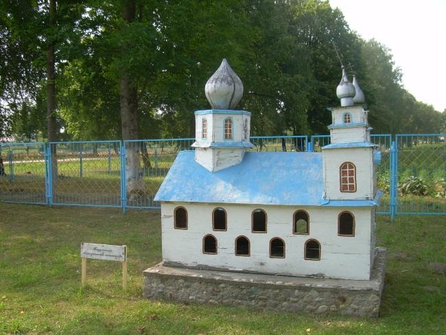 Макет Тадулинского монастыря.
