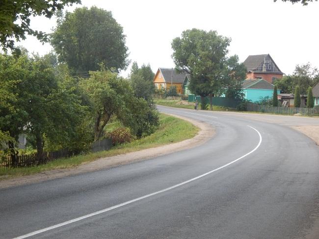 Улица Центральная - главная в Ольгово.