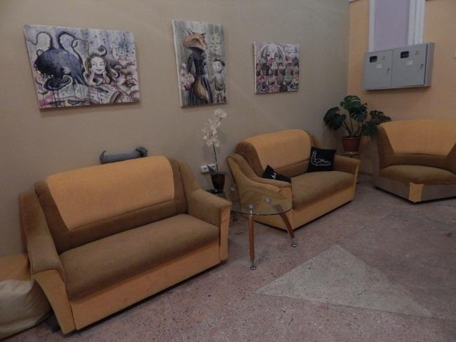 В уютных комнатах творческого центра найдется место всем.