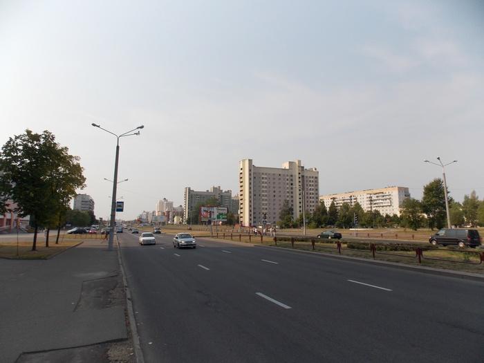 Витебск. Проспект Победы.