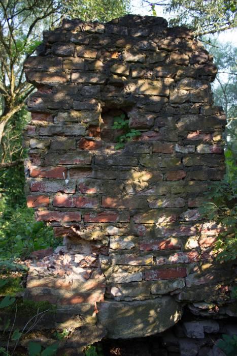 Самый живописный из сохранившихся частей мельничной стены