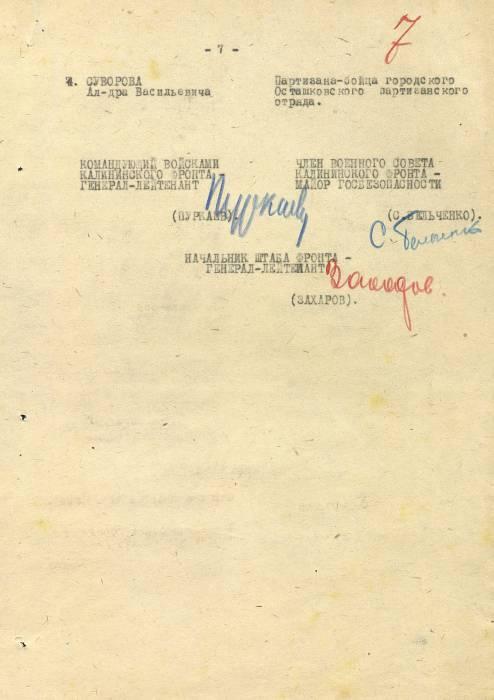 Копиии приказа подписи