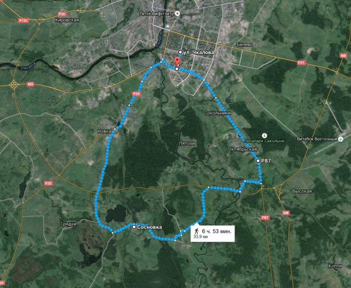 Витебск - Сосновка