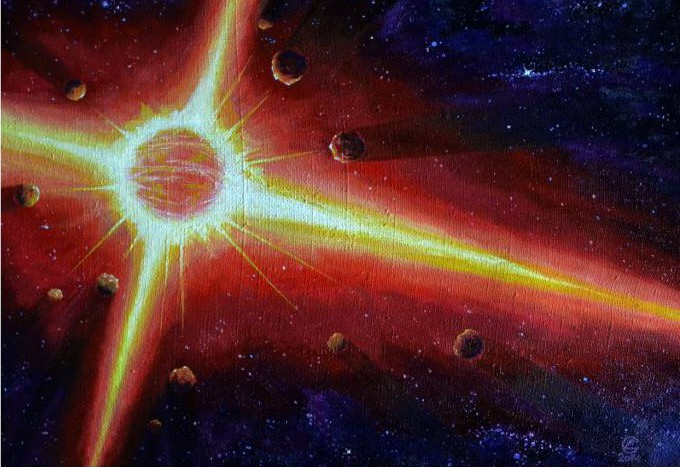 Дмитрий Сухинин. Нейтронная звезда и её 11 спутников