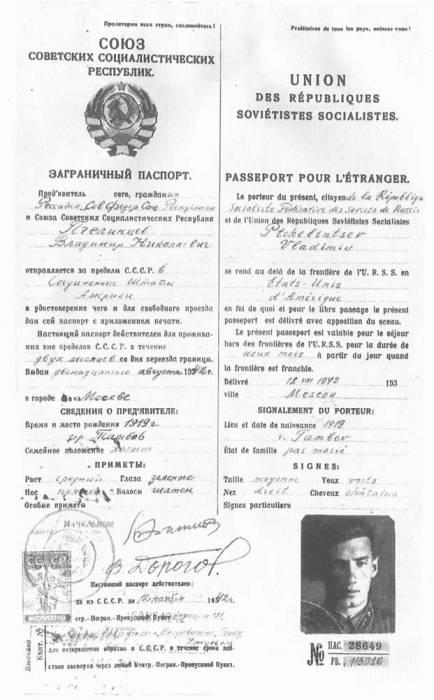 Паспорт военных лет. Фото: nnm.me