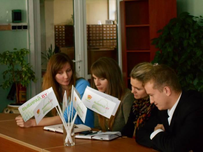 Команды обдумывают не только свои предложения по развитию белорусской культуры, но и спосбы их претворения в жизнь