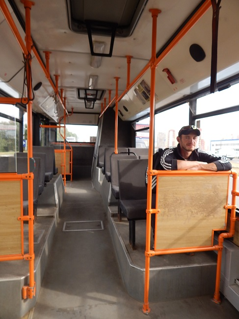 Единственный пассажир на Билево-3.