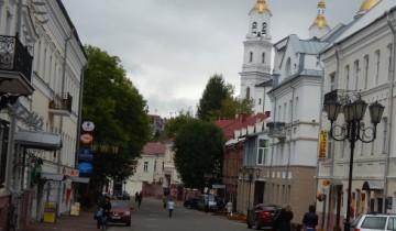 Вид на улицу Толстого с Воскресенской площади.