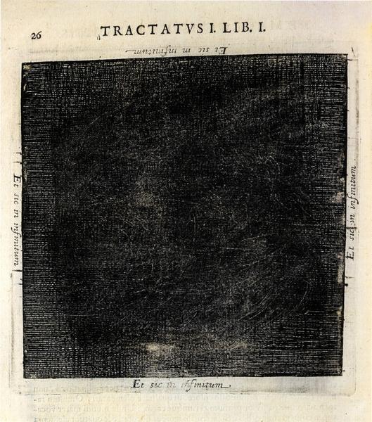 """Чорны квадрат"" Роберта Фладда. 1617 г."