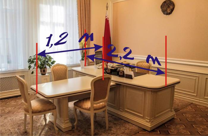 Стол председателя нацбанка 2