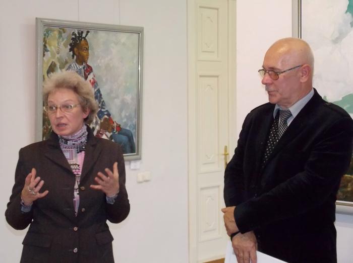 Светлана Баранковская и Николай Бондарчук