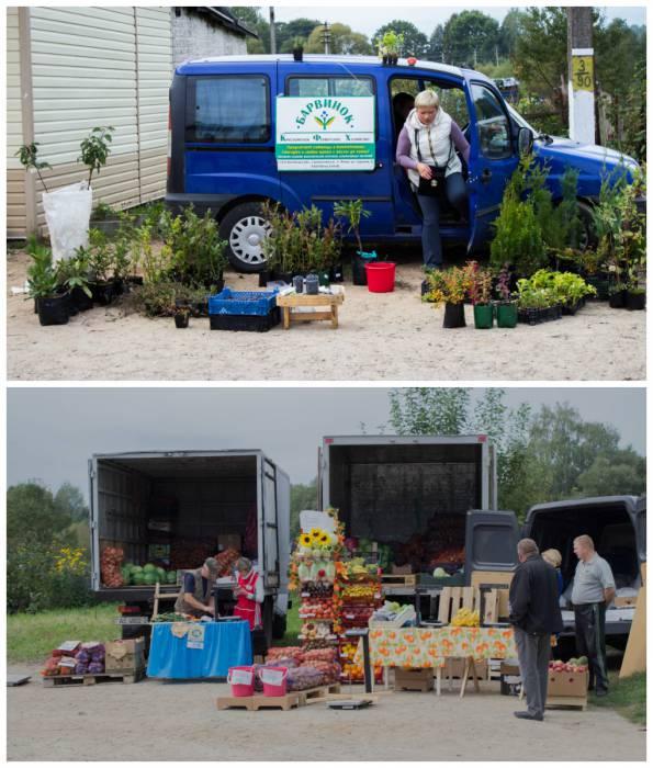 """Сельскохозяйственная продукция на """"Вярхоўскім кірмашы"""""""