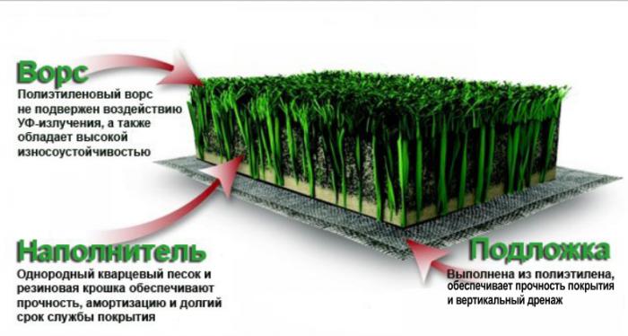 А таковы преимущества искусственного газона. Фото sc-sport.com