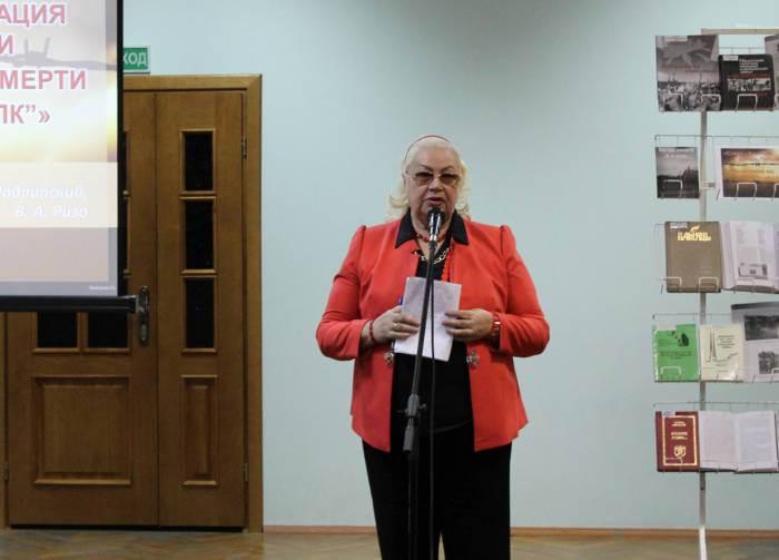 Поэтесса Тамара Краснова-Гусаченко