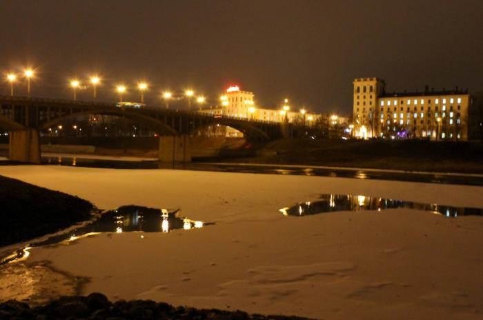 Зима. Витебск