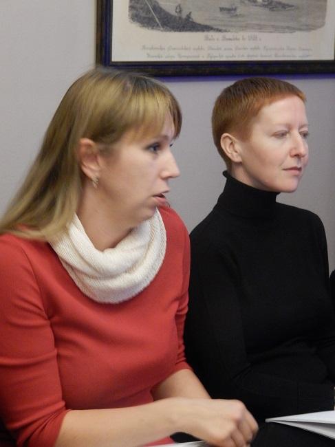 Людмила Дунец и Ирина Денисова