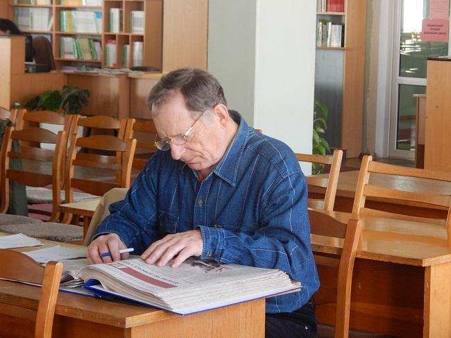 Владимир Алексеевич готов к новым знаниям