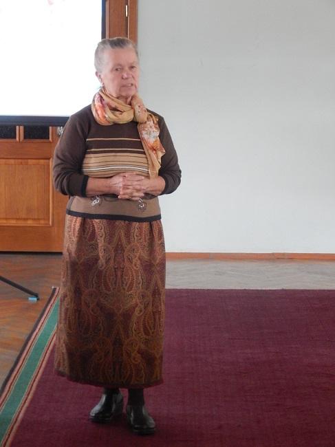 Лилия Гаспарович своими моделями гордится
