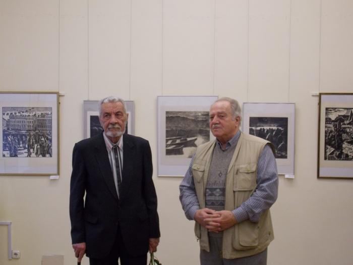 Георгий Киселёв и Феликс Гумен
