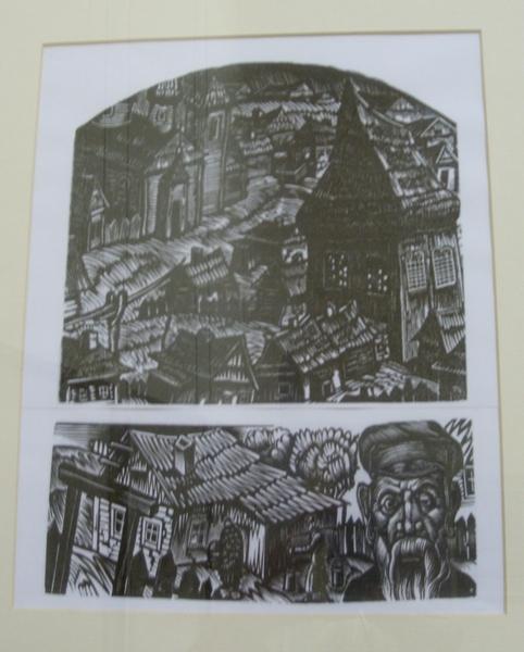 Гравюры Соломона Юдовина. Из коллекции Витебского художественного музея