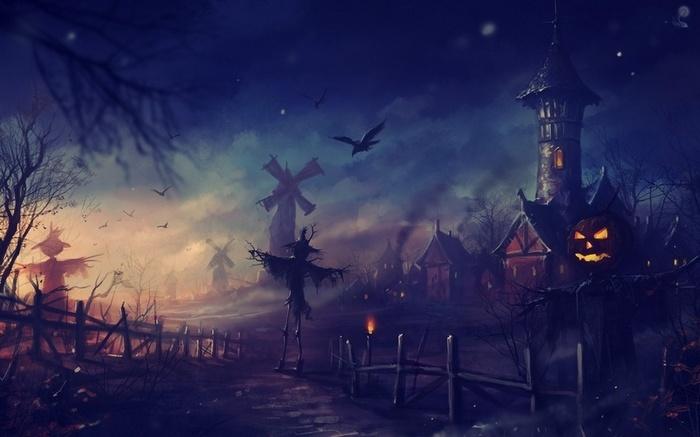 Неповторимая мистическая атмосфера Хэллоуина
