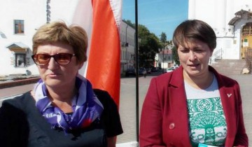 Лидия Сагидулина и Татьяна Короткевич
