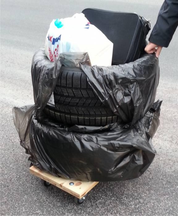 Резина для автомобиля контрабандой