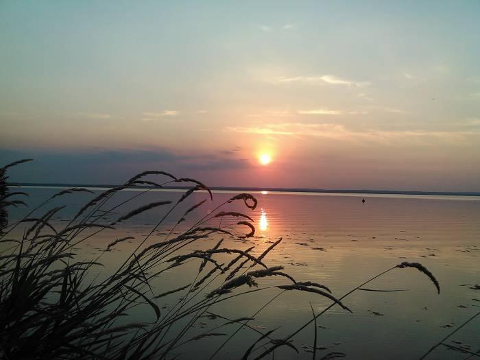 Волшебные виды новолукомльского озера